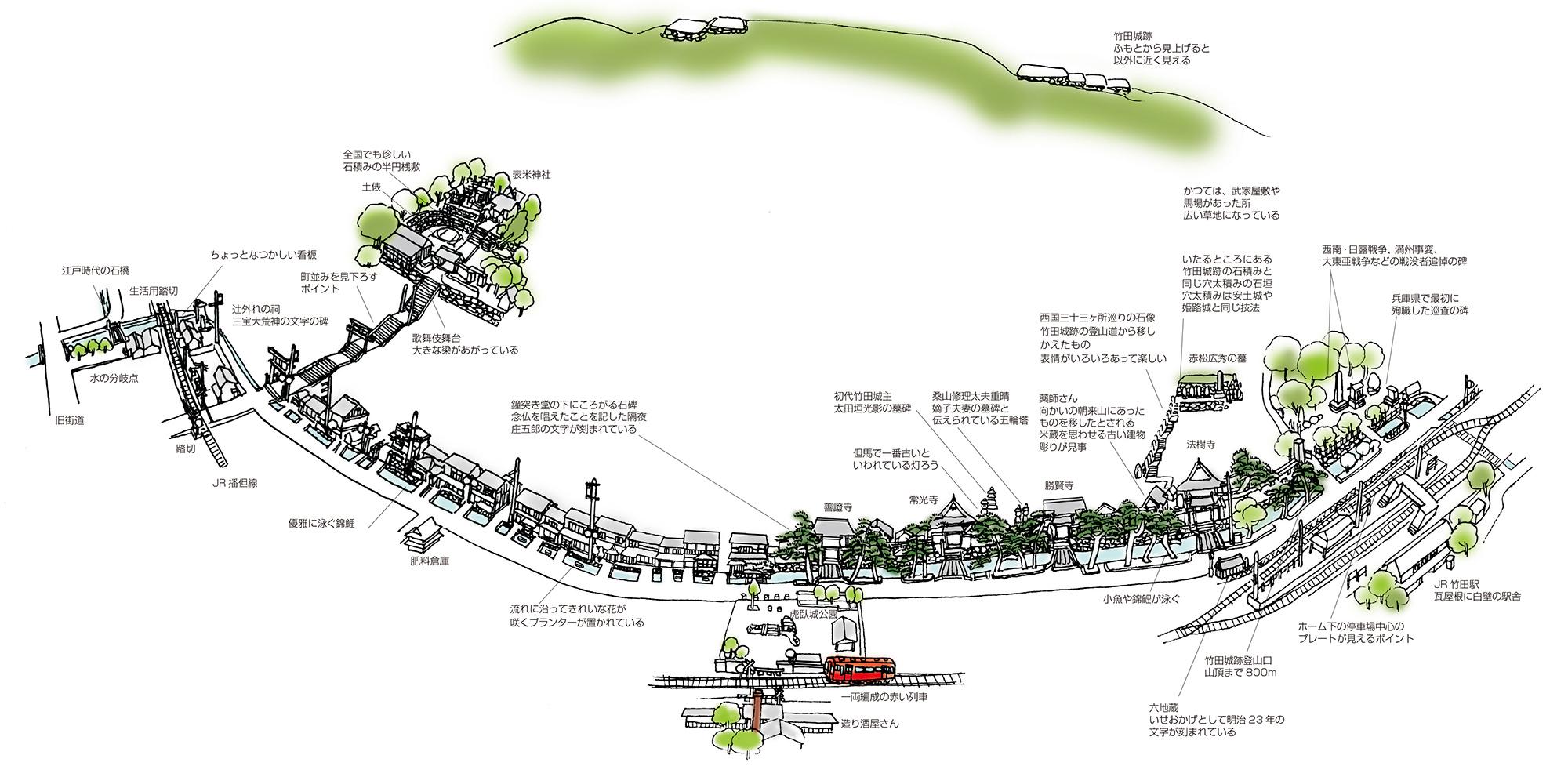 石に刻まれた歴史をたどる<朝来市和田山町竹田>(Vol.35/1999年7月発行)