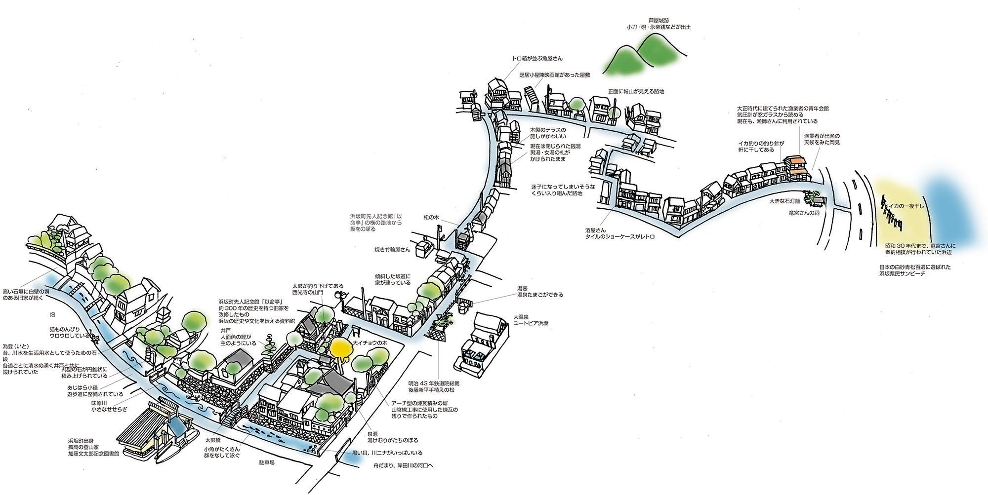 歴史と海辺の入り組んだ路地<新温泉町浜坂>(Vol.36/1999年11月発行)