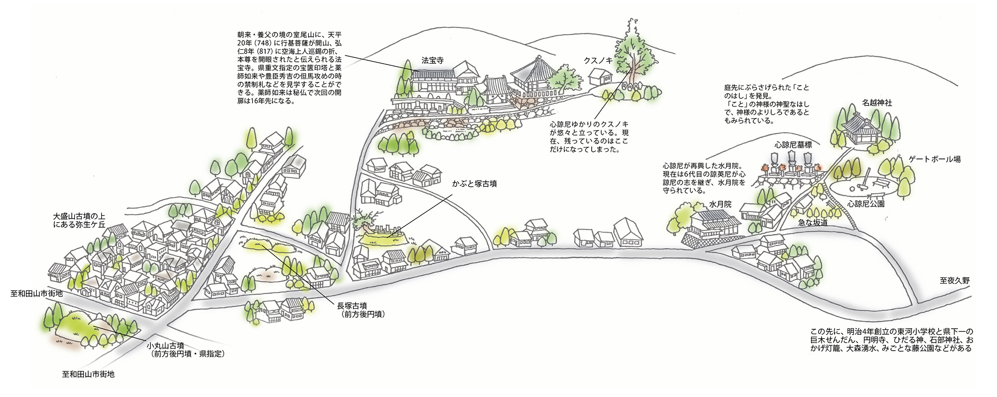 古墳の里めぐり<朝来市和田山町東河>(Vol.51/2004年7月発行)